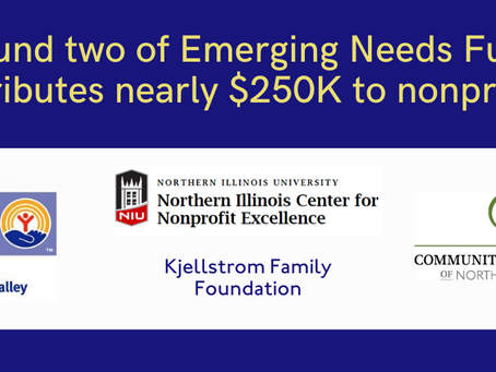ROUND TWO OF EMERGING NEEDS FUND DISTRIBUTES NEARLY $250,000 TO 31 LOCAL NON-PROFITS