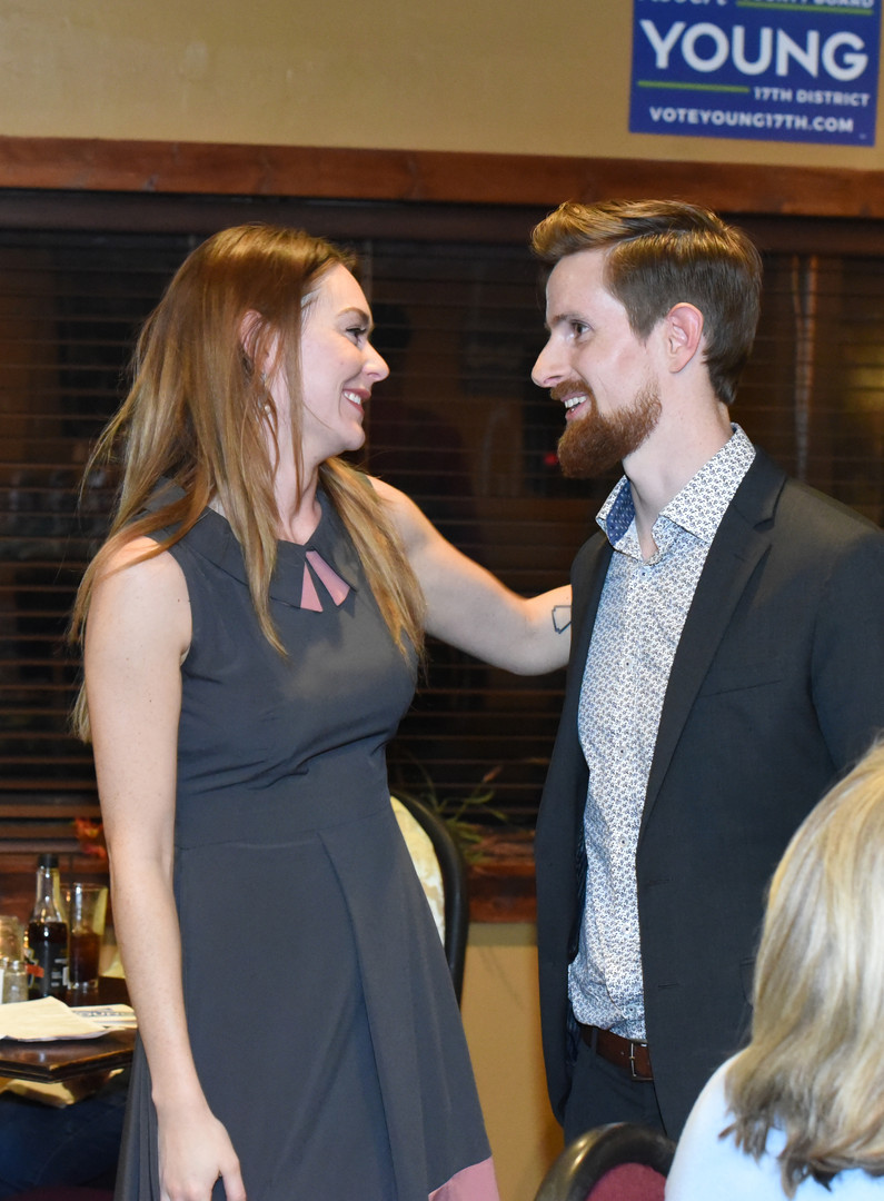 Rob and Masha