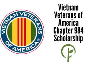 Vietnam Veterans of America Chapter 984 Scholarship