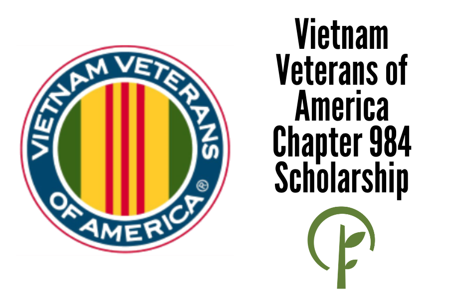 Logos for the Vietnam Veterans of American and the Community Foundation of Northern Illinois.