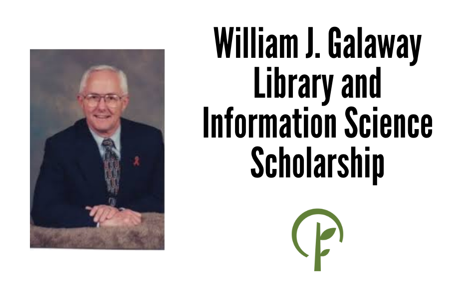Photo of William J. Galaway. Logo for the Community Foundation of Northern Illinois.