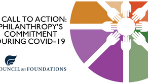 A CALL TO ACTION: PHILANTHROPY'S COMMITMENT DURING COVID-19