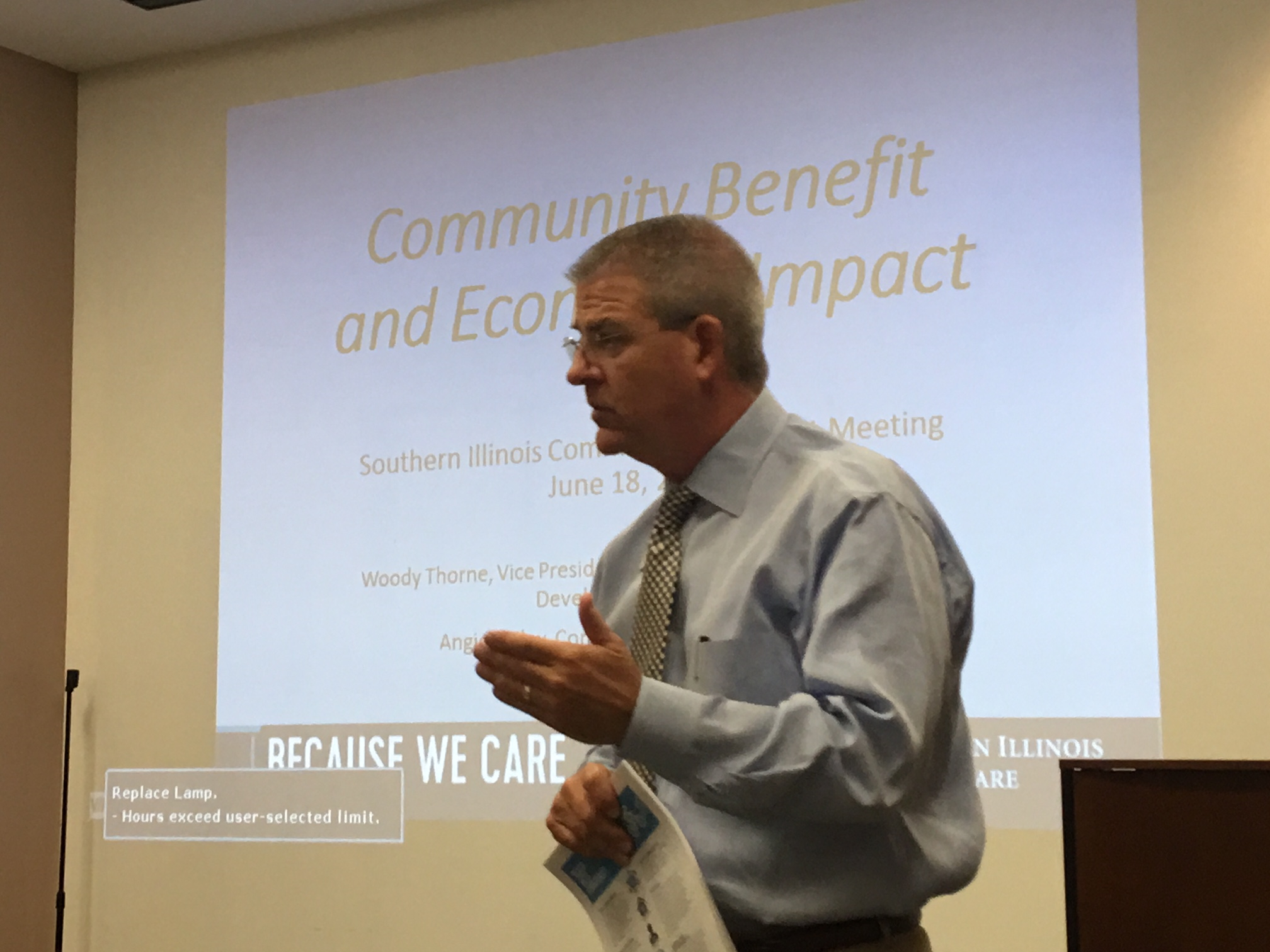 Woody Thorne - Southern Illinois Healthcare - Community Benefits Program