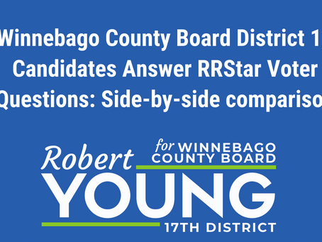 District 17 Candidates Answer Voters' Questions in Winnebago County Board Race