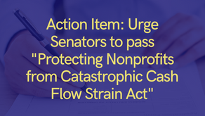 Act Now to Protect Nonprofits from Government-Induced Cash-Flow Strain