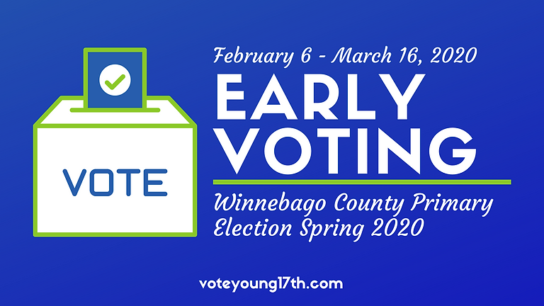 Early Voting for Winnebago County General Primary