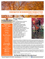 Edgewater newsletter fall 2020 - cover p
