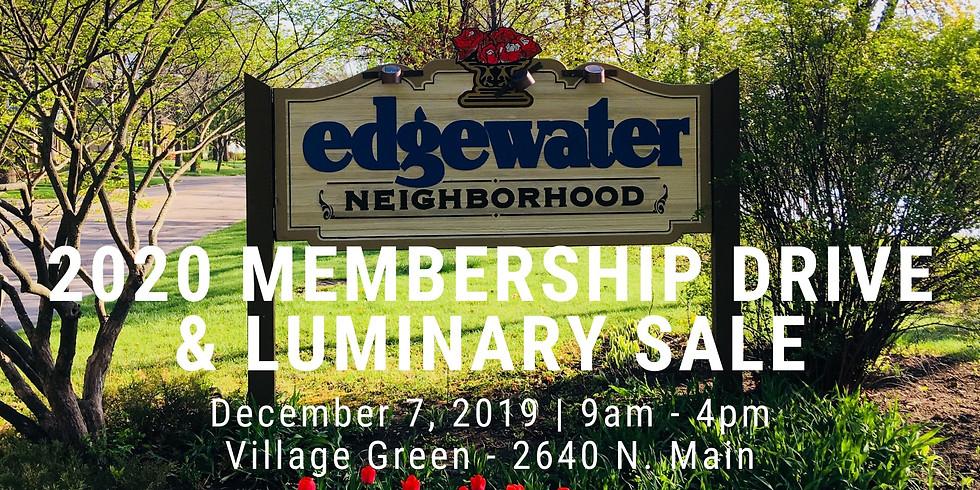 Membership Drive & Luminary Sale (1)