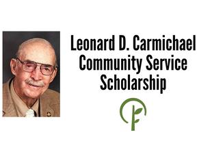 Leonard D. Carmichael Community Service Scholarship