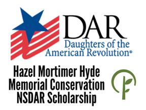 Hazel Mortimer Hyde Memorial Conservation NSDAR Scholarship