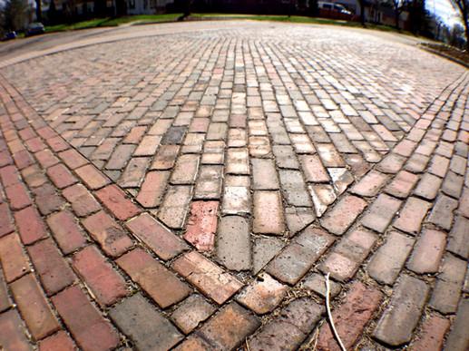 Historic brick streets