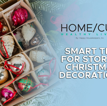 SMART TIPS FOR STORING CHRISTMAS DECORATIONS