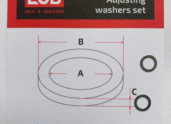 Комплект шайб рег. 4*6*0.2 мм. 2 шт.