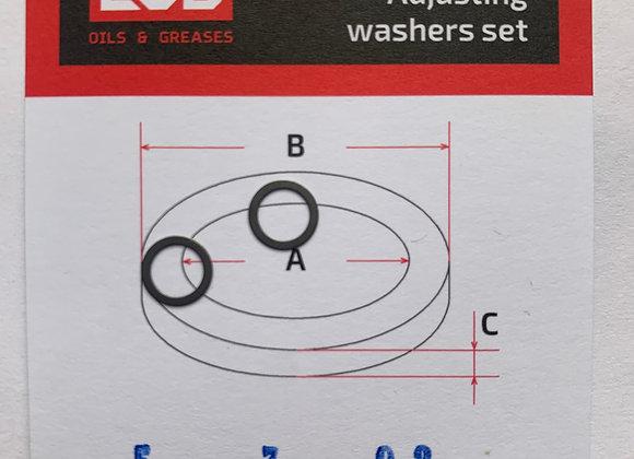 Комплект шайб рег. 5*7*0.2 мм, 2 шт.