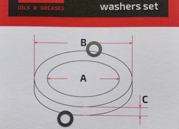 Комплект шайб рег. 3*5*0.1 мм. 2 шт.