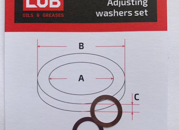 Комплект шайб рег. 8*11*0,05 мм. 2 шт.