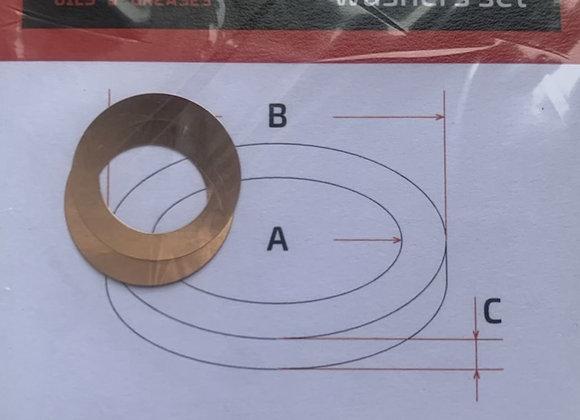 Комплект шайб рег. 10*15*0,05 мм. 2 шт.
