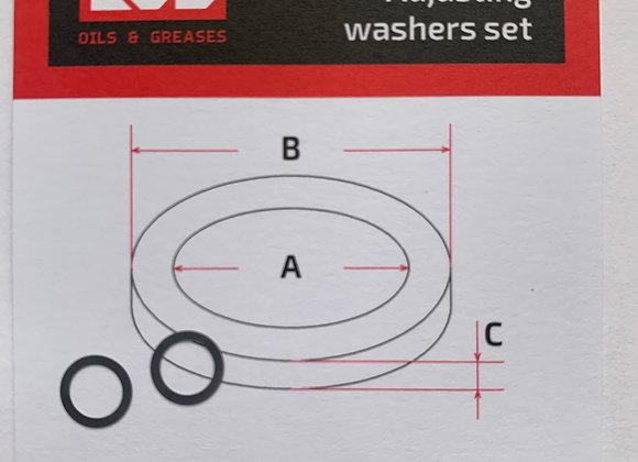 Комплект шайб рег. 5*7*0.1 мм, 2 шт.
