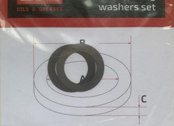 Комплект шайб рег. 10*15*0,1 мм. 2 шт.