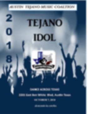 2018 Tejano Idol brochure cover  jpeg.jp