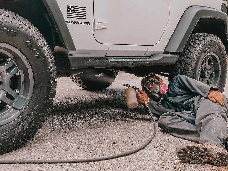 rustproofing, corrosion and rust inhibit