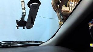 Long crack windshield repair