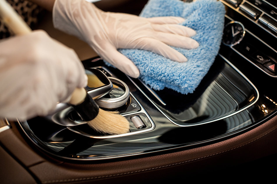 Professional auto detailing, car cleanin