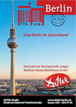 Berlin for Sale