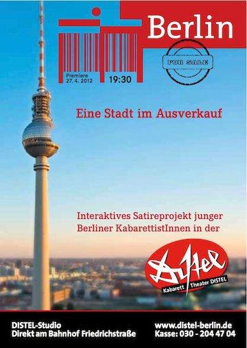 Plakat Berlin for Sale