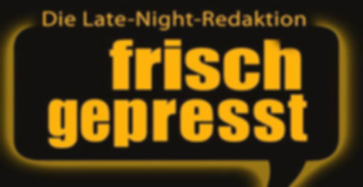 Logo frisch gepresst