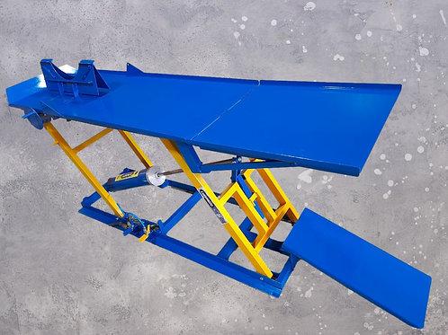 EP 250 - Elevador Pneumático 250 kg Plataforma Larga Lisa