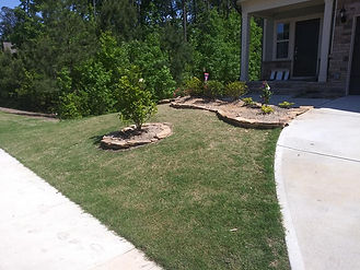 Flagstone Retainer wall Wake Forest 1.jp