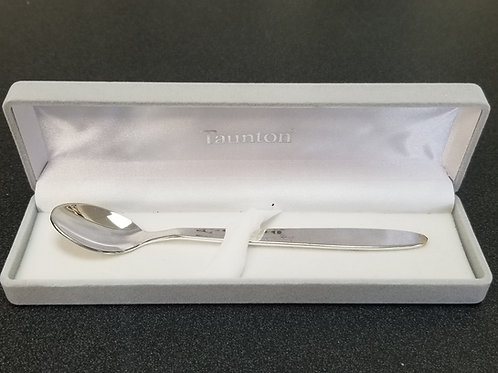 Taunton Silver-Plated Feeding Spoon