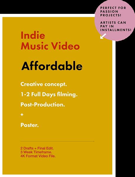 Rococo Standard Video Pricing Plan 2020