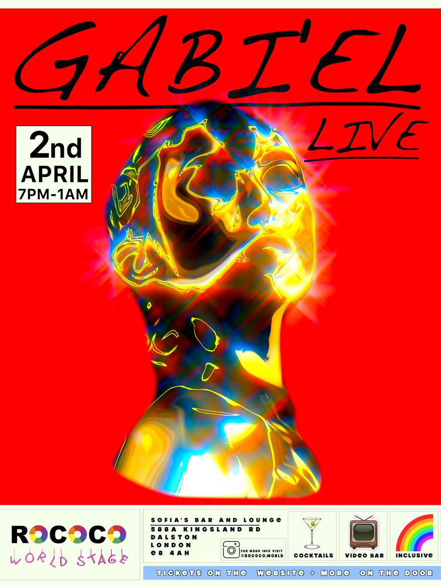 Rococo World Stage poster (Gabi-el) Fina