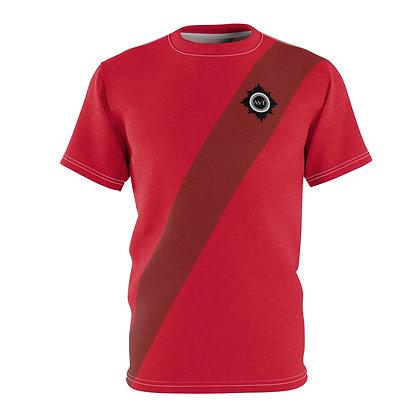 Unisex Avé - Brooch Tee Red