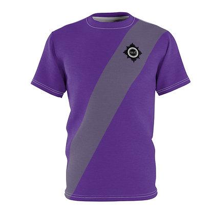 Unisex Avé - Brooch Tee Purple