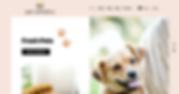 Pet Esthetics website