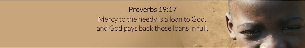 Banner Proverbs 19:17