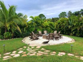 Phillips Landscape backyard