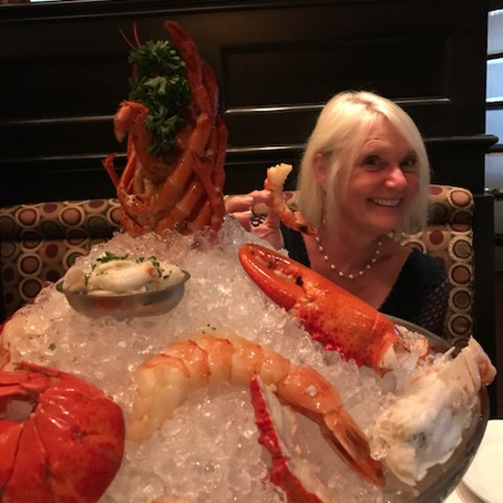 Seafood Tower at Ruth's Chris