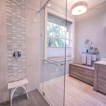 Distinct Designs by Barb - bathroom shower