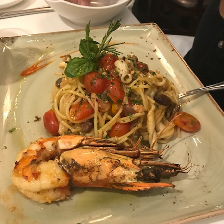 Prawns and Pasta in Sarasota, FL