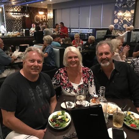 Dinner at Speak's Clam Bar