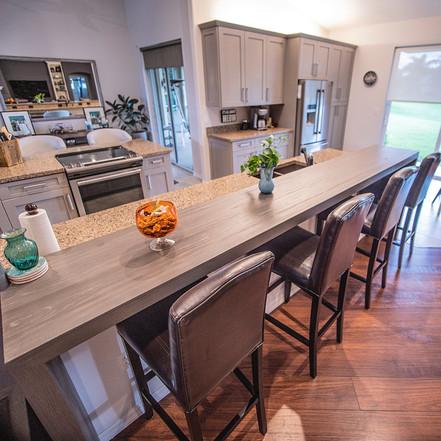 Distinct Designs by Barb - kitchen bar
