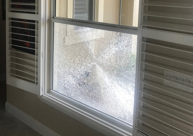Repair glass