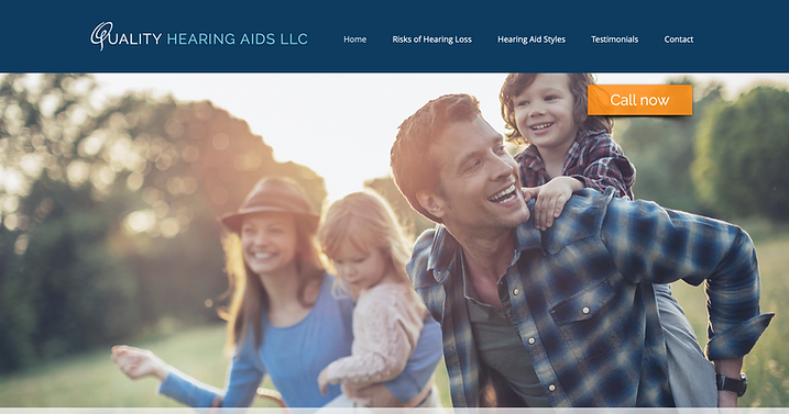 Quality Hearing Aids website