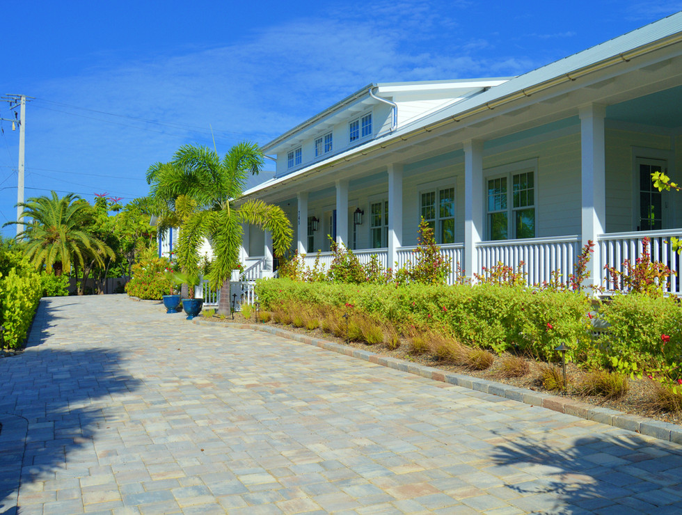Landscaping for house