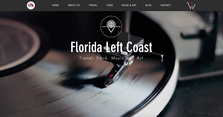 Florida Left Coast website