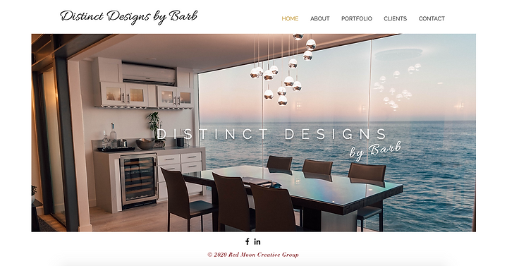Distinct Designs by Barb website